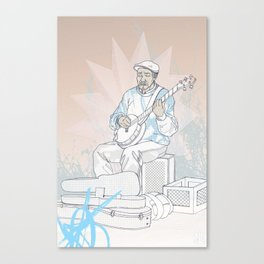 Sound on Sound 2 Canvas Print