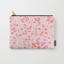 Terrazzo paper - pink Carry-All Pouch