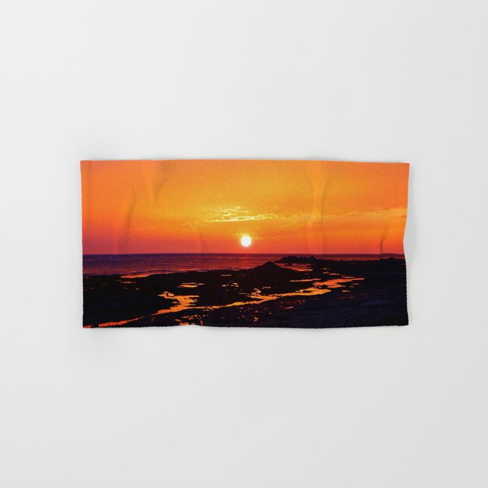 Orange Morning Hand & Bath Towel