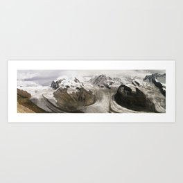 The alps Art Print