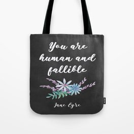 Fallible - Jane Eyre Tote Bag