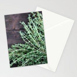 Thyme - Modern Garden Print Stationery Cards
