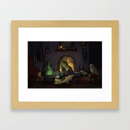 Feeling Witchy Framed Art Print