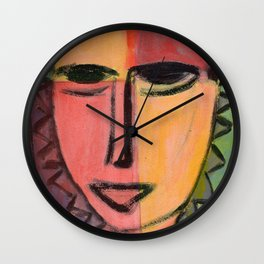 Portrait imaginaire Wall Clock