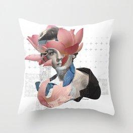 Miss August Throw Pillow