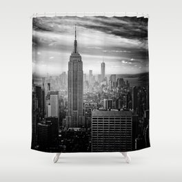 Empire State Building, New York City Shower Curtain