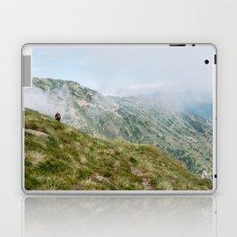 Hiker in the Pyrénées Laptop & iPad Skin