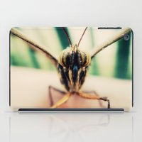 moth iPad Cases featuring moth by Sookie Endo