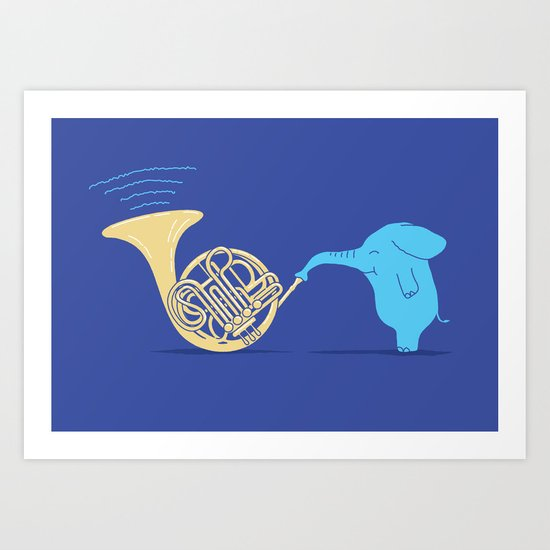 Skill Comes With Practice Art Print