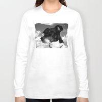 best friend Long Sleeve T-shirts featuring My best friend by Karl-Heinz Lüpke