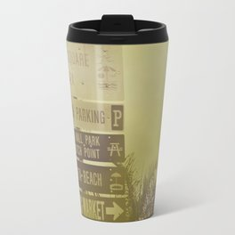 Lets go to the beach Travel Mug
