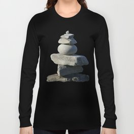 Stone on stone,  tranquility Long Sleeve T-shirt