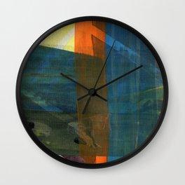 Scrappy prints Wall Clock