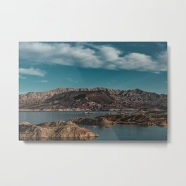 Lake Meads Metal Print