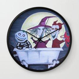 Oogie Boogies  Wall Clock