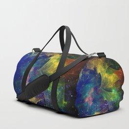 Fractal Galaxy Duffle Bag