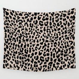 Tan Leopard Wall Tapestry