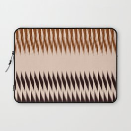 Black and Tan Edge Laptop Sleeve