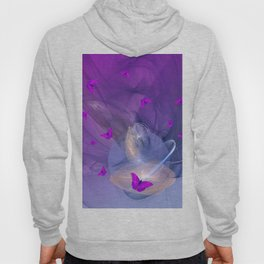Birth of butterfly wishes Hoody