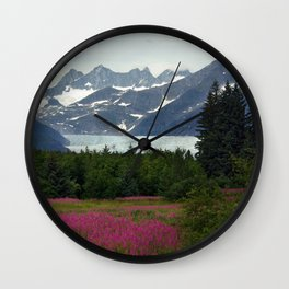 Juneau, Alaska Wall Clock