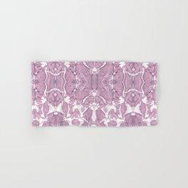 Shibori Rose Crepe De Chine Hand & Bath Towel