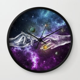 The meeting of souls. Wall Clock