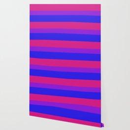 Bisexual Pride Flag v2 Wallpaper