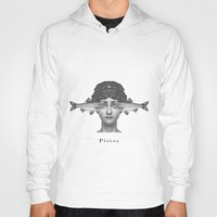 pisces Hoodies featuring Pisces by A.M.
