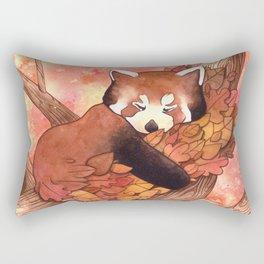 Cute Red Panda Rectangular Pillow