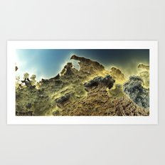 pass the horizon of Niheeli Art Print