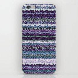 Purple Lavender Teal Carpet Texture iPhone Skin