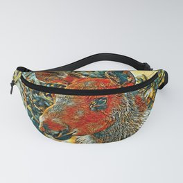 AnimalArt_Moose_201904_by_JAMColors Fanny Pack