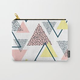 Modern Triangle Carry-All Pouch