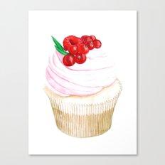 Classic Cupcake Canvas Print