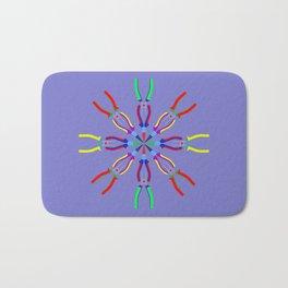Pliers Design Bath Mat