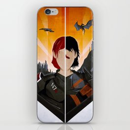 The Shepard & The Hawke iPhone Skin