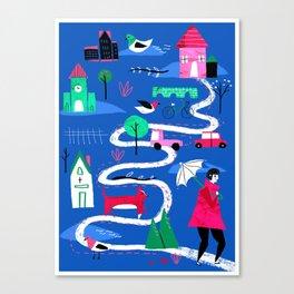 Toowoomba Canvas Print