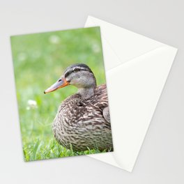 Mrs. Duck Stationery Cards