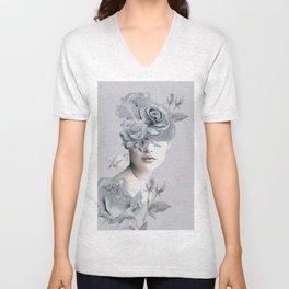 Spring (portrait) Unisex V-Neck