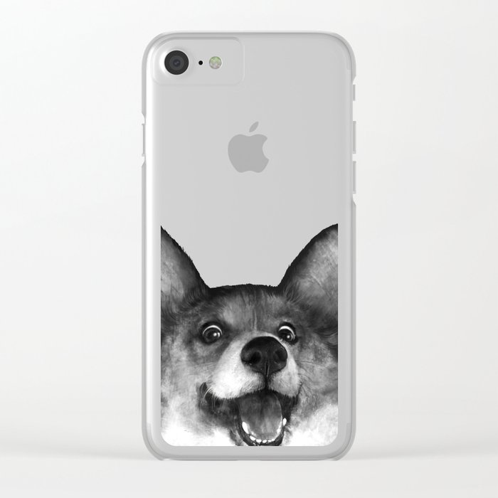 Corgi Clear iPhone Case