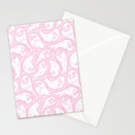Good Lil' Ghost Gang in Pale Pink Stationery Cards