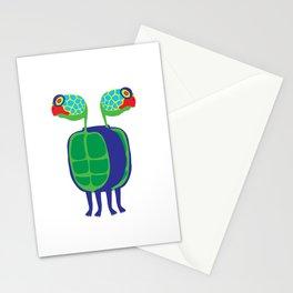 Animal Mardi Gras: Turtle Stationery Cards