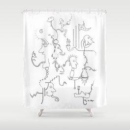 Dream no. 8 Shower Curtain