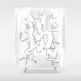 Dream no. 8 Shower Curtain