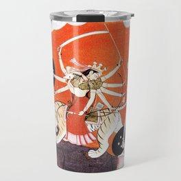 Hindu Durga 4 Travel Mug