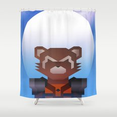 Guardians of the Galaxy - Rocket Raccoon Shower Curtain