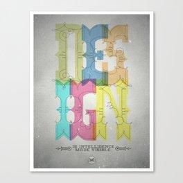 Design Canvas Print