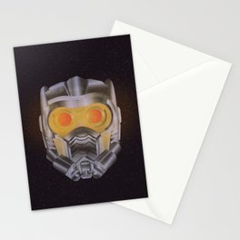 Star Lord Helmet Stationery Cards