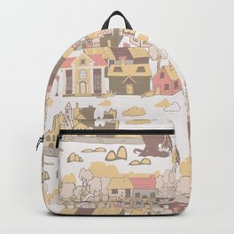 Cashel of the Kings Hand Drawn Art Backpack