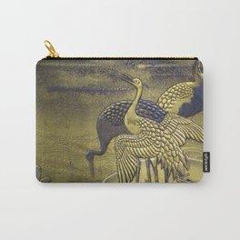 Golden Birds Carry-All Pouch